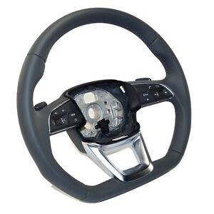 Audi Q5 FY flat bottom sports steering wheel leather multifunction shift paddles