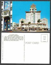 Old California Postcard - San Diego - El Cortez Hotel