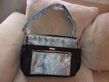 Frizzi Diaper Bag, Beautiful blue , silver, orange Asian Type Pattern