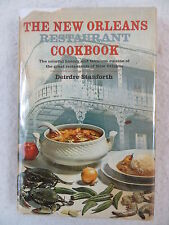 Deirdre Stanforth THE NEW ORLEANS RESTAURANT COOKBOOK Doubleday & Company 1967