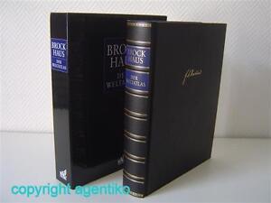 Brockhaus Enzyklopädie Weltatlas zur 21.Auflage * 6.Auflage aus 2010 * DVD-ROM