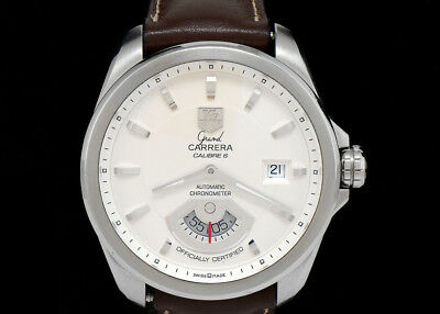 TAG HEUER Grand Carrera Calibre 6 Watch WAV511B.FC6230 - NEW in box with papers