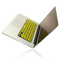 """R YELLOW Keyboard Cover Skin for NEW Macbook Pro 15"""" A1398  with Retina display"""