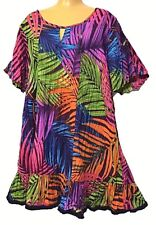 TS top TAKING SHAPE VIRTU plus sz S / 16 Palmita Tunic 100% cotton twist/dry NWT
