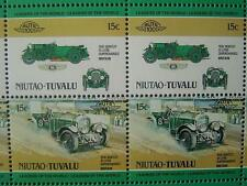 1930 BENTLEY Blower 4.5L Car 50-Stamp Sheet Auto 100 Leaders of the World