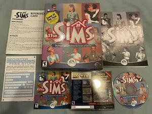 The Sims 1 Original People Simulator 2000 PC Computer CD Video Game in Big Box!