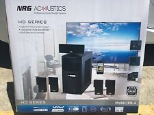 NEW NRG Acoustics SG-4 Home Theater System HD Series 2200 Watt Output Brand New