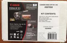 NEW Canon VIXIA HF R11 Dual w/32GB Flash Memory Camcorder HD CMOS Image Sensor