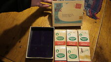 Vintage Boxed Advertising ROCHESTER DAIRY & IBM HAND LOTION PILLOWS Give-Aways