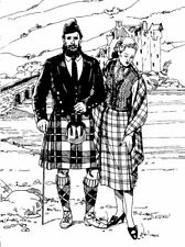 Folkwear Scottish Kilt Jacket Vest #152 Highland Sewing Pattern Only folkwear152