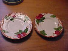 "Two (2) Vintage Franciscan Apple 6 1/4"" Bread Plates,  TV Mark"