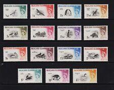 Falkland Islands - #128-142 complete mint, cat. $ 185.85