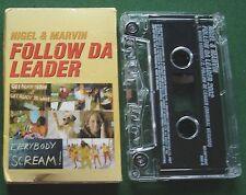 Nigel & Marvin Follow Da Leader Cassette Tape Single - TESTED