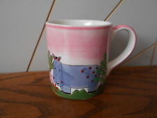 HUMPHREY THE HIPPO mini ceramic, china, child's small mug WHITTARD OF CHELSEA