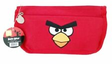 Rovio Angry Birds Zippered Cosmetic Bag Pencil Case Pouch RED