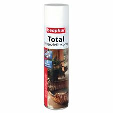 Beaphar Ungeziefer Spray Total 400ml-Flohspray Umgebungsspray Flöhe Zecken Läuse