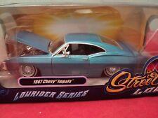 "Jada  1967 Chevrolet Impala ""Lowrider"" 1:24 Scale NIB Blue exterior"