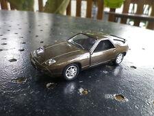 SOLIDO FRANCE PORSCHE 928 GT marron comme neuve sans boite