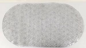 Clear Glitter PVC Non Slip Bathmat Bath Mat