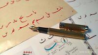 Jinhao fountain pen qalam with left oblique nib for Arabic, Farsi calligraphy D4
