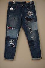 Polo Ralph Lauren Astor Slim Boyfriend Indigo Blue Jeans Size 27