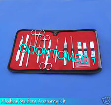 40 PCS INSTRUMENTS MEDICAL STUDENT ANATOMY DISSECTION KIT VETERINARY DS-1107