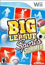 Big League Sports Summer Wii Game >Brand New - In Stock - Fast Ship<