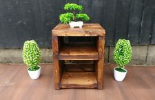 Handmade Rustic Industrial Bedside Cabinet made from Reclaimed wood
