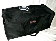"CALIFORNIA PAK GEAR BAG, 3+ Cu. Ft. Capacity, 14""x14""x28"" - BLACK, w/ext. pocket"