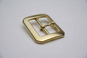 Japanese Buckle - Brass Single Prong (40mm)
