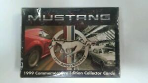 Mustang 35th Anniversary Collector Cards - New, Rare & MINT! Ships Worldwide