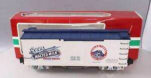 LGB 46670 Coors Malted Milk Boxcar - Metal Wheels/Box