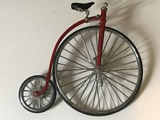 Vintage Penny Farthing Big Wheel Fully Functioning 6.75in. Exact Replica