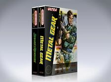 NEW custom game storage cases METAL GEAR and SNAKE'S REVENGE NES -No Game-