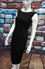 MONSOON LITTLE BLACK TEXTURED PENCIL DRESS SIZE 6