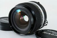 Nikon Ai-S Nikkor 24mm F/2 Wide Angle MF Lens w/Case /Caps [Exc++] Japan #731866