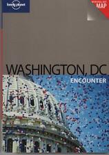 WASHINGTON DC ENCOUNTER - LONELY PLANET TRAVEL INCL PULL-OUT MAP FAST FREE POST