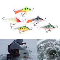 Vertical Jigging plomb poisson appât 5cm 7.5 g hiver pêche à la glace Lure