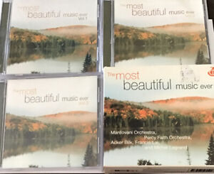 The Most Beautiful Music Ever - 3 CD Set -Free Post📮Acceptable cond,MantovaniO.
