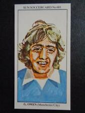 The Sun soccercards 1978-79 - GARY OWEN - Manchester City #681