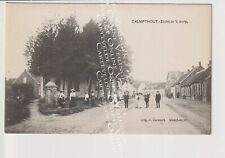 Oude Postkaart CPA Kalmthout Zicht in het Dorp