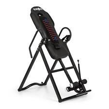 [OCCASION] Table d'inversion Banc revêtement chauffant massage dorsal max 136kg/