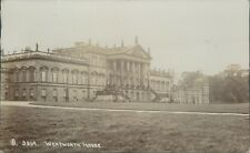 Real photo Wentworth house 1908 J crowther Ivanhoe series