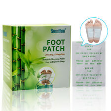 50 PCS Detox Foot Pads Patch Detoxify Toxins Fit Health Care Detox Pad#