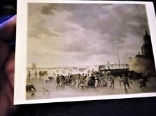 COLLECTABLE POSTCARD NATIONAL GALLERY SCENE GOYEN OUTSIDE DORDRECHT 1154