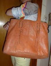 COMPTOIR DES COTONNIERS joli sac en cuir marron de MOUTON