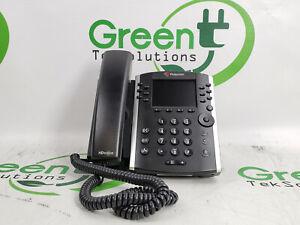 Scratches Polycom VVX 401 12-Line Desktop Phone with HD Voice w/ Stand/ Handset
