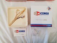 Corgi 50th Anniversary Concorde Gold Toy Fair 2006 TRA Brand New
