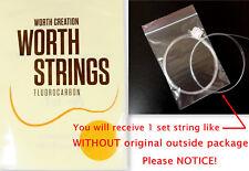 1 Set Worth Clear Fluoro-Carbon String For 8 string tenor Ukulele C8 (in bulk)