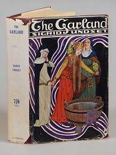 Sigrid Undset - The Garland, 1st English edition, in dust jacket, Gyldenal, 1922